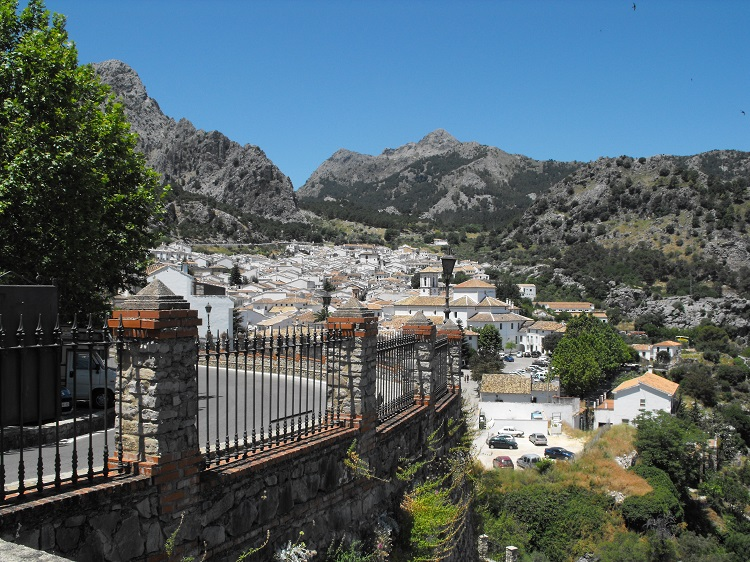 The whitewashed village of Grazalema