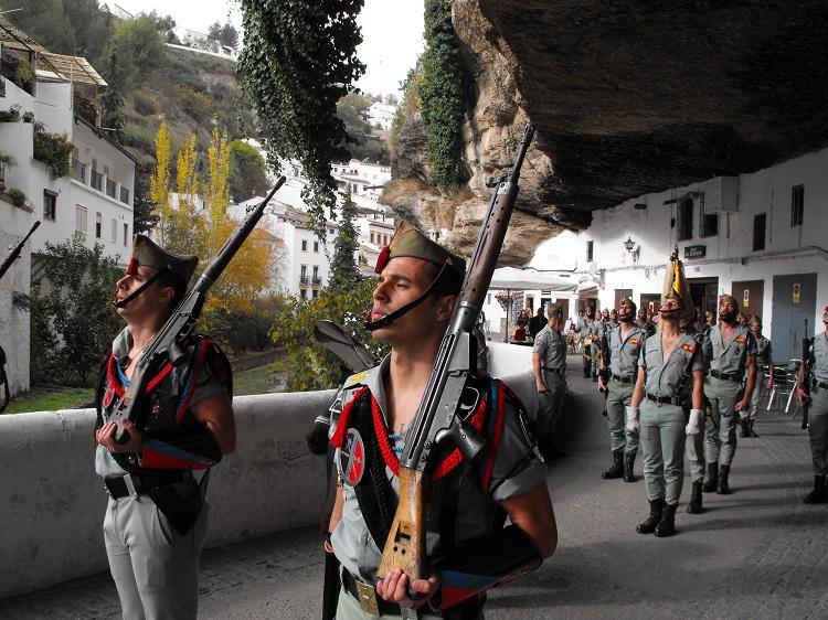 Parade of the Spanish Legion